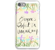 Perfection iPhone Case/Skin