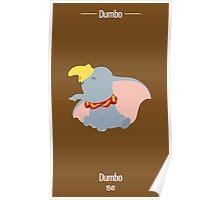 Dumbo Illustration Poster