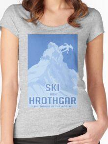 Ski Hrothgar Women's Fitted Scoop T-Shirt