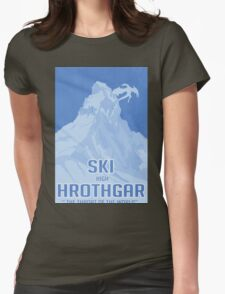 Ski Hrothgar Womens Fitted T-Shirt