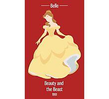 Belle Illustration Photographic Print