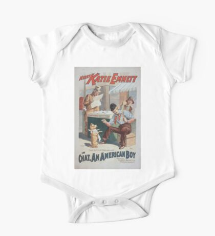 Performing Arts Posters Merry Katie Emmett in Chat an American boy 0726 One Piece - Short Sleeve