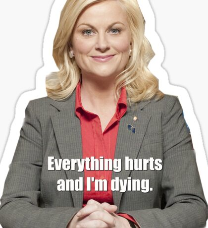 Leslie Knope Sticker Parks and Rec Sticker
