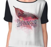 The Shannara Chronicles burnt leaf Chiffon Top