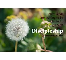 Discipleship Photographic Print
