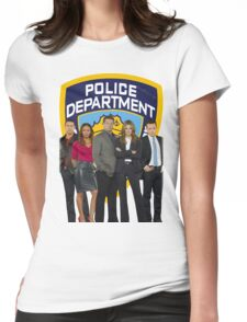 12th Precinct Team Womens Fitted T-Shirt