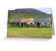 The Barns Of Urris.................................Ireland Greeting Card