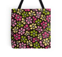 Little flower doodle seamless pattern.  Beautiful background.  Tote Bag