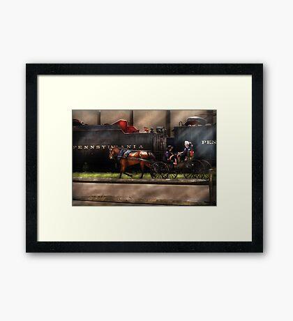 You got to love Lancaster Framed Print