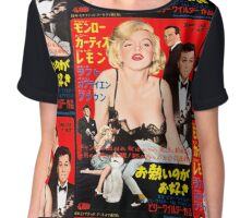 Grindhouse Lounge presents: Monroe! (Japanese promo) Chiffon Top