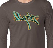 tipografia chupala mexican slang Long Sleeve T-Shirt