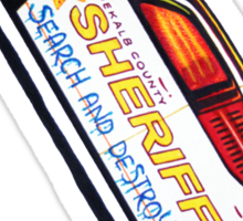 DeKalb County Sheriff Search and Destroy T-Shirt (SlipSlide Edition) Sticker