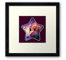 Super STAR man Framed Print