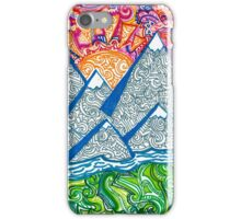 Mountain Doodle iPhone Case/Skin