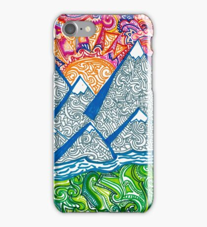 Mountain Doodle iPhone Case/Skin