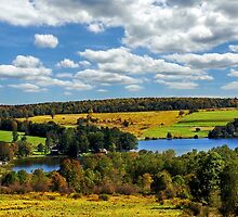 New York Countryside Landscape by Christina Rollo