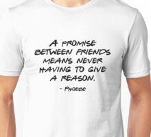 Friends - A promise between friends Unisex T-Shirt