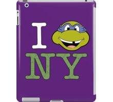 New York Donnie iPad Case/Skin