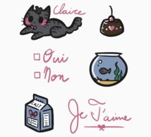 Claire the French Kitty by Skitty Vasquez