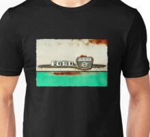 Turquoise Rusted Ford F100 Unisex T-Shirt