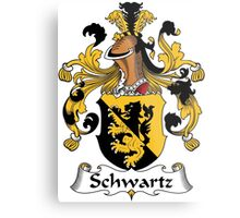 Schwartz Coat of Arms (German) Metal Print
