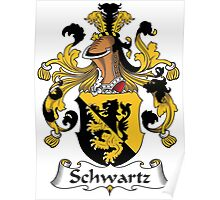Schwartz Coat of Arms (German) Poster