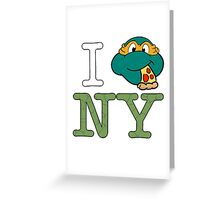New York Mikey  Greeting Card