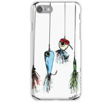 fishing flys iPhone Case/Skin
