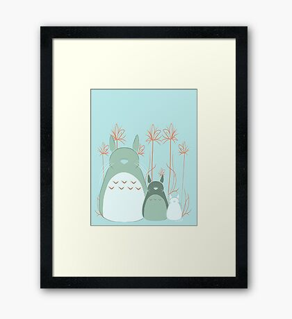 Little Neighbor  Framed Print