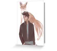 Nicky Hemmick - Foxes with Foxes Greeting Card