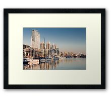 Puerto Madero - Buenos Aires (Argentine) Framed Print