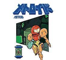 Samus Aran to the rescue - Metroid Photographic Print