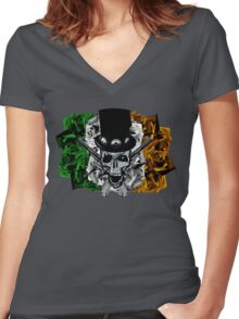 Armour of the roses Women's Fitted V-Neck T-Shirt