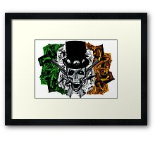 Armour of the roses Framed Print