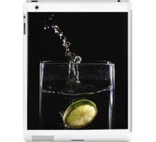 Lime Splash iPad Case/Skin