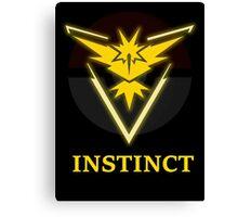 TEAM INSTINCT - POKEMON GO! Canvas Print