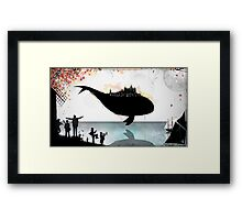 The Junkyard Framed Print