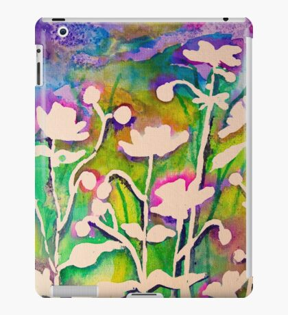Japanese Anemones  iPad Case/Skin