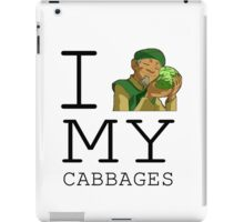 I Love My Cabbages iPad Case/Skin