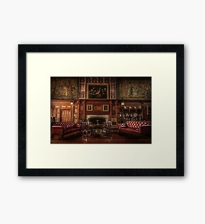 By The Hearth Framed Print