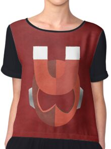The Master of Magnetism  Chiffon Top