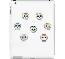 Dia de Los Muertos Sugar Skulls iPad Case/Skin