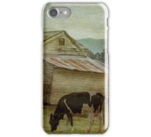 The Old Cow Shed iPhone Case/Skin