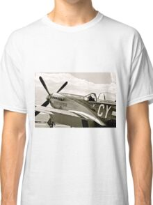 P-51 Mustang Fighter Plane Classic T-Shirt