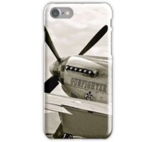 P-51 Mustang Fighter Plane iPhone Case/Skin