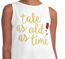 Tale as old as Time Contrast Tank
