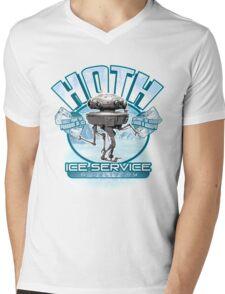 Hoth Ice Service - No Drama with the Wampa Mens V-Neck T-Shirt