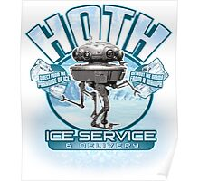 Hoth Ice Service - No Drama with the Wampa Poster