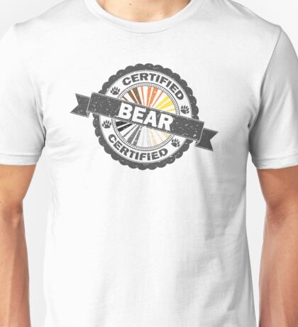 Certified Bear Stamp Unisex T-Shirt