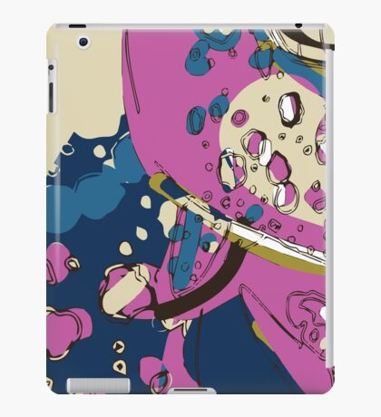 Spacey garden abstract iPad Case/Skin